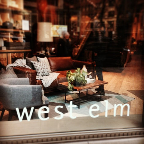 Now available at West Elm