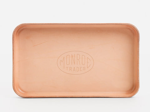 Leather Tray for Smile Train