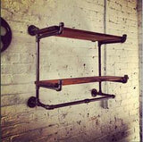 The Ridgewood Double Hanging Shelf