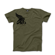 Load image into Gallery viewer, A.B.S. LOGO TEE (army green)
