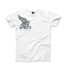 Load image into Gallery viewer, A.B.S. LOGO TEE (white)