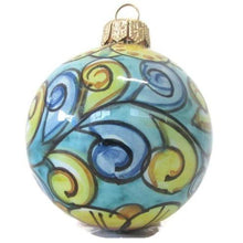 Load image into Gallery viewer, Christmas ball, Caltagirone ceramics, Diameter 7 cm, various colors