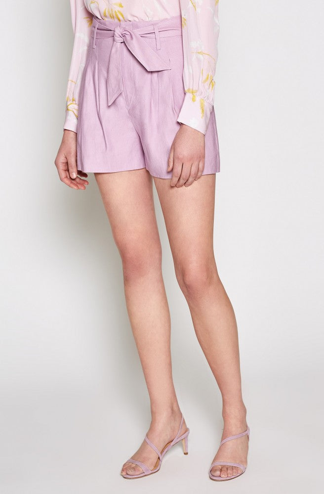Kaylei Shorts in Lavender Rose