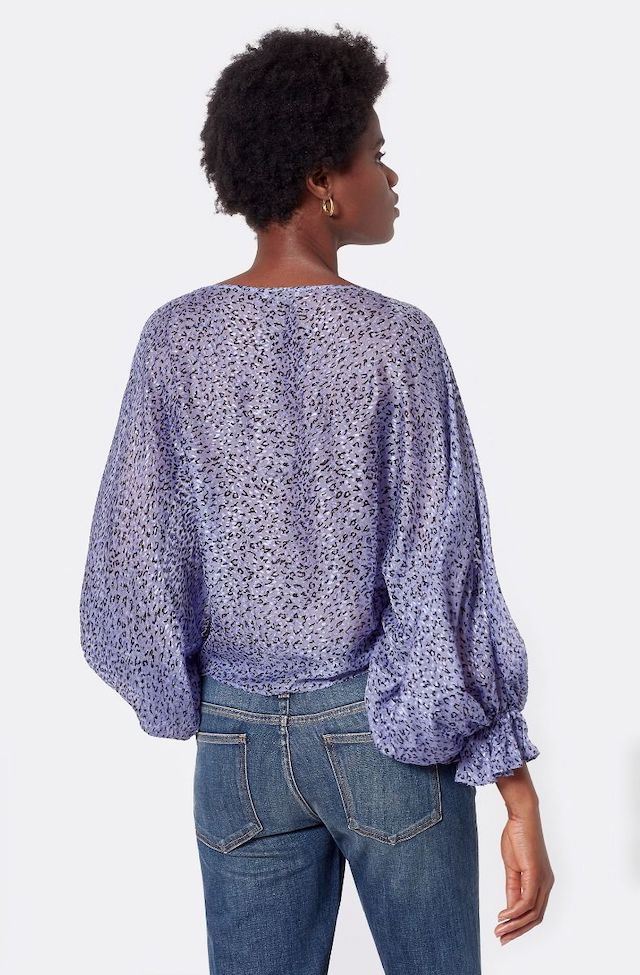 Joie Nylah Long Sleeve Top in Light Iris