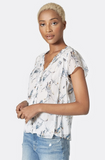 Joie Saesha Silk Top in Porcelain