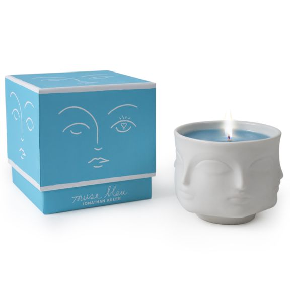 Blue Muse Candle