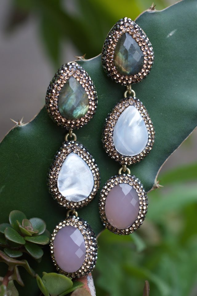 Native Gem Verona Tiered Ilume Earrings