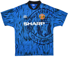 Load image into Gallery viewer, MANCHESTER UTD FC 1992-93 AWAY SHIRT