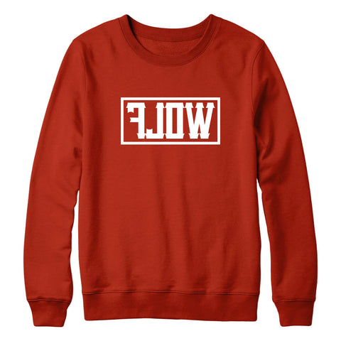 Essential WOLF Sweatshirt Red