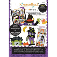 Load image into Gallery viewer, KIMBERBELL OH THE POSSIBILITIES FOR HALLOWEEN – COMPANION EMBROIDERY DESIGN CD