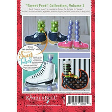 Load image into Gallery viewer, KIMBERBELL SWEET FEET COLLECTION, VOLUME 1 EMBROIDERY CD
