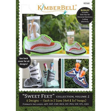 Load image into Gallery viewer, KIMBERBELL SWEET FEET COLLECTION, VOLUME 2 EMBROIDERY CD