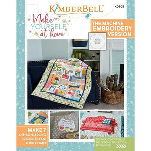 KIMBERBELL MAKE YOURSELF AT HOME EMBROIDERY CD  BOOK