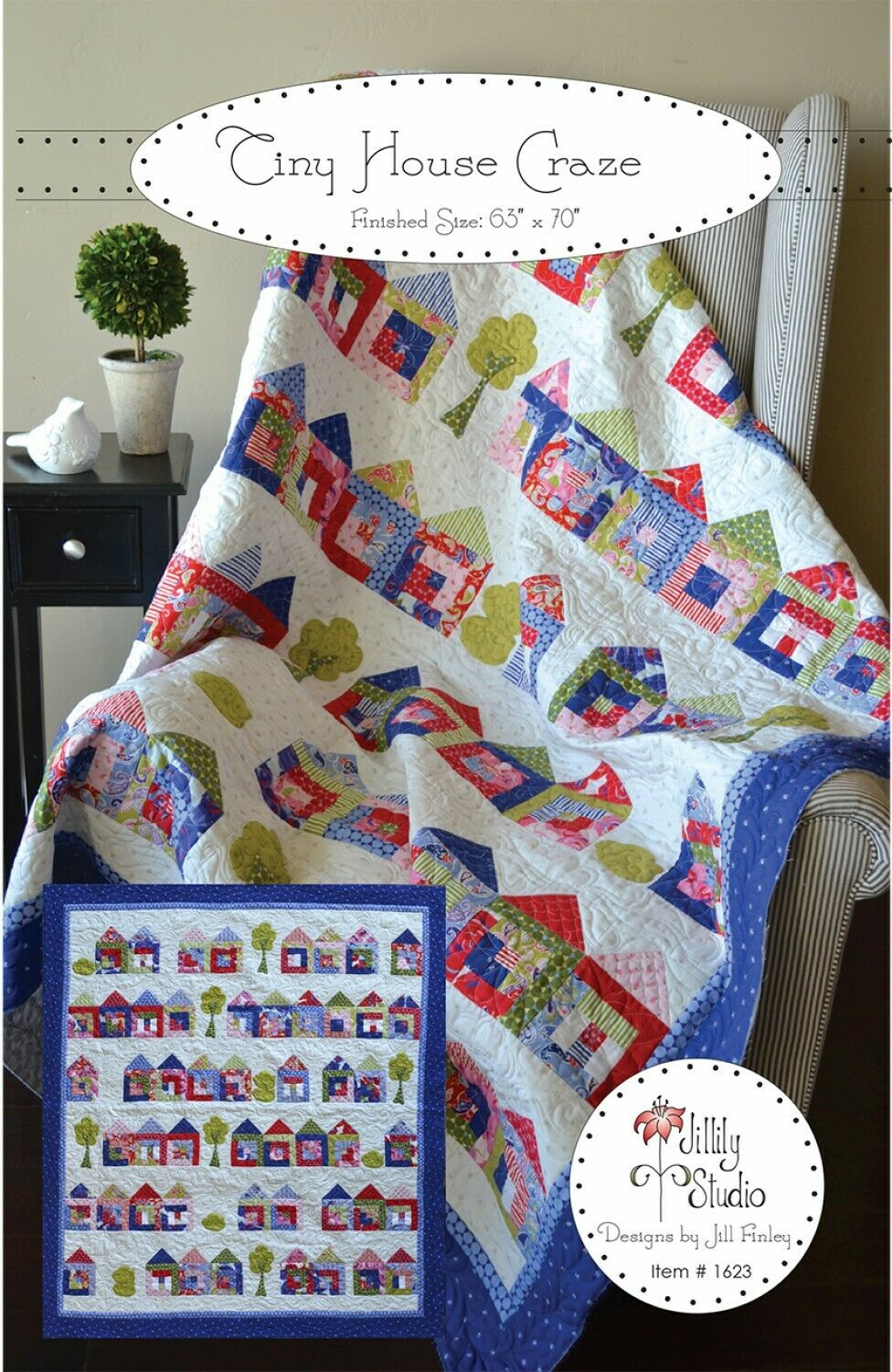 Tiny House Craze Quilt Pattern by Jillily Studio