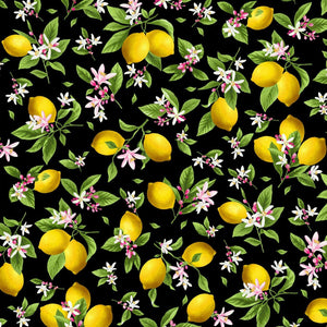 Make Lemonade Fabric by Timeless Treasures