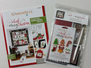We Whisk You a Merry Christmas ME CD & Embellishment Kit (SOLD TOGETHER)