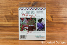 Load image into Gallery viewer, GLITTER DOT ORGANZA: SILVER, RED, PURPLE by Kimberbell