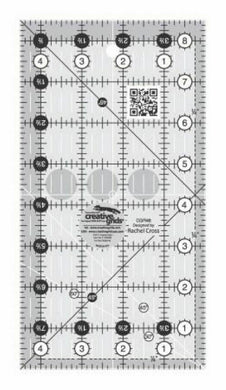 Creative Grids Quilt Ruler 4 1/2