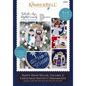 CHRISTMAS NATIVITY ORNAMENTS, HAPPY HOOP DECOR, VOL 2 ME CD