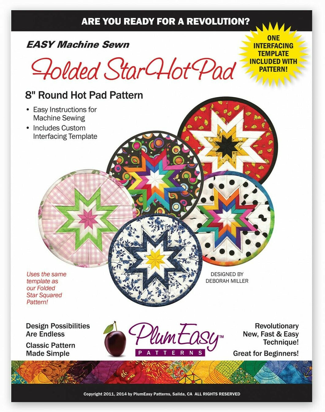 Folded Star Hot Pad Pattern 8