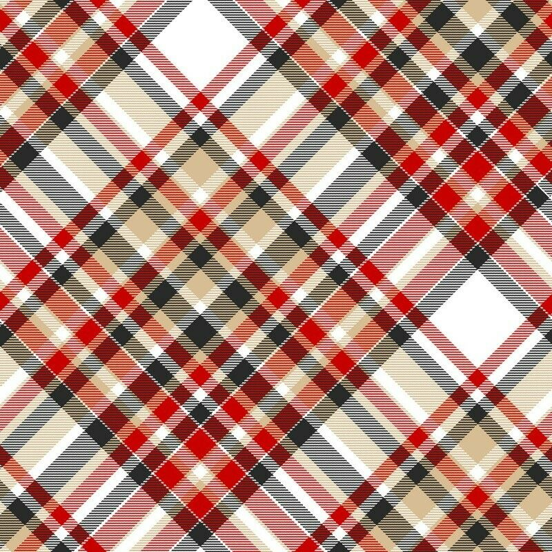 Bias Plaid Fabric by Henry Glass SBY