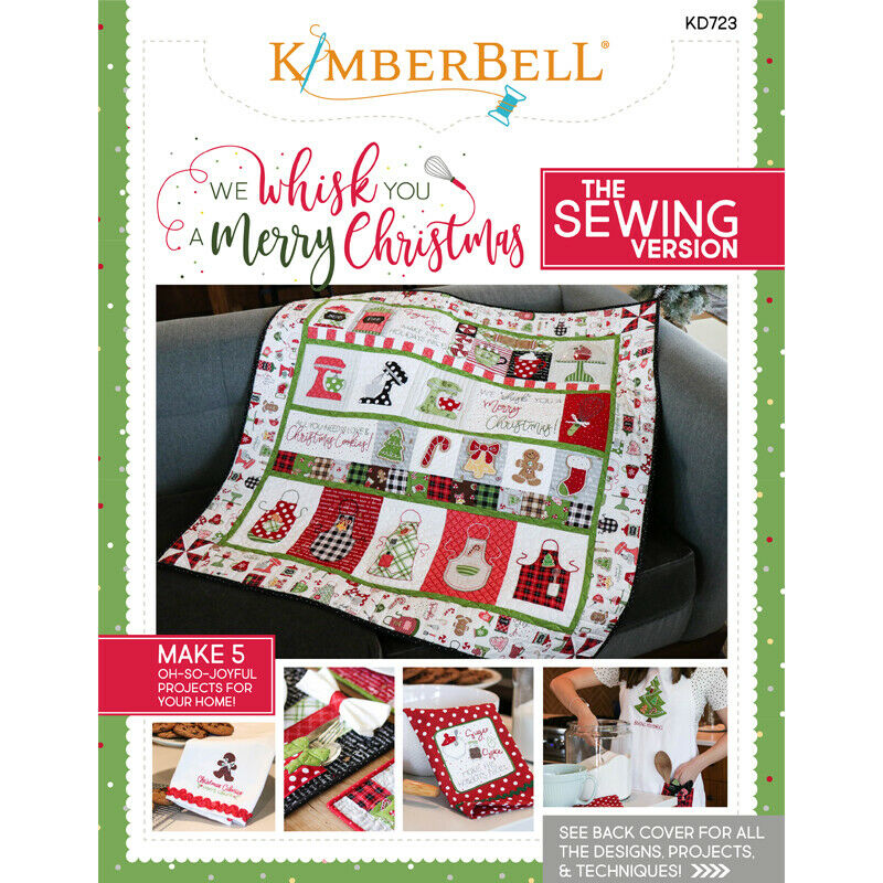 WE WHISK YOU A MERRY CHRISTMAS by KIMBERBELL- SEWING VERSION