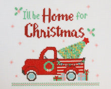 Load image into Gallery viewer, I'll Be Home For Christmas Cross Stitch Pattern by Beverly McCullough