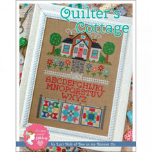 Load image into Gallery viewer, Quilter's Cottage Cross Stitch Pattern by Lori Holt