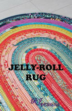 Load image into Gallery viewer, JELLY ROLL RUG PATTERN