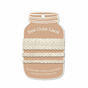 Bee Cute Lace by Lori Holt Choose From Natural or Color