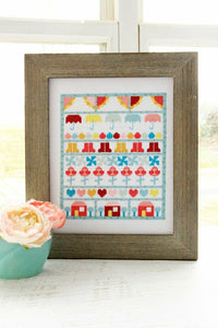 Singing in the Rain Cross Stitch Pattern by Beverly McCullough