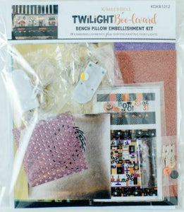 Twilight Boo-Levard Bench Pillow Embellishment Kit by Kimberbell Designs