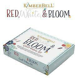 RED WHITE & BLOOM QUILT FABRIC KIT by Maywood