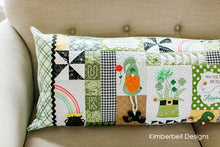 Load image into Gallery viewer, Bench PIllow Luck O' The Gnome by Kimberbell ME CD