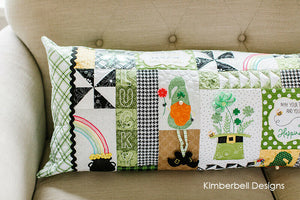 Bench PIllow Luck O' The Gnome by Kimberbell ME CD