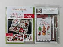 Load image into Gallery viewer, WE WHISK YOU A MERRY CHRISTMAS SEWING VERSION & EMBELLISHMENT KIT (SOLD TOGETHER