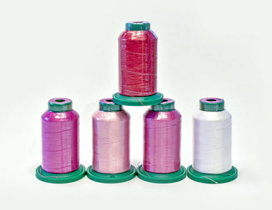 ISACORD THREAD VALENTINE KIT 5 spools 1000m each