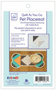 Pet Placemats Quilt As You Go by June Tailor