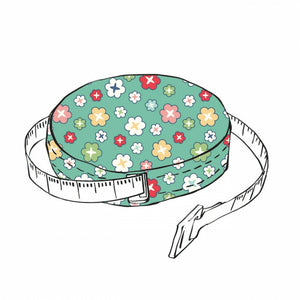 "Vintage Happy 2 Tape Measure Tape 60"" by Lori Holt  (1)"