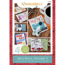 Load image into Gallery viewer, MUG RUGS, Volume 3 by Kimberbell  MD CD