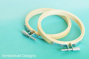 KIMBERBELL BAMBOO HOOPS (SET OF 2)