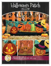 Load image into Gallery viewer, HALLOWEEN PATCH PILLOW PATTERN BOOK