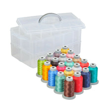 Load image into Gallery viewer, Vintage Boardwalk Thread by Fil-Tec 20 mini spools with case