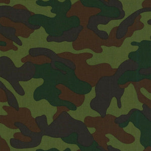 Camoflauge-Oxford Fabric by Kokyka Sold by the Yard