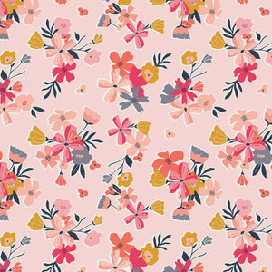 Pink Floral Fabric by Riley Blake SBY