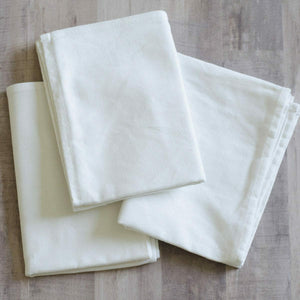 TEA TOWELS- WHITE  BLANK by KIMBERBELL