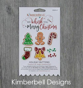 "WE WHISK YOU A MERRY CHRISTMAS ""HOLIDAY BUTTONS"" by KIMBERBELL"