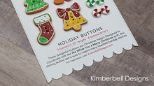 "Load image into Gallery viewer, WE WHISK YOU A MERRY CHRISTMAS ""HOLIDAY BUTTONS"" by KIMBERBELL"