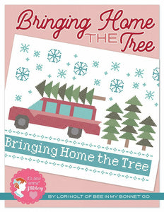 BRINGING HOME THE TREE CROSS STITCH By Lori Holt