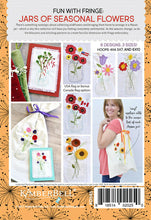 Load image into Gallery viewer, KIMBERBELL FUN WITH FRINGE: JARS OF SEASONAL FLOWERS ME CD